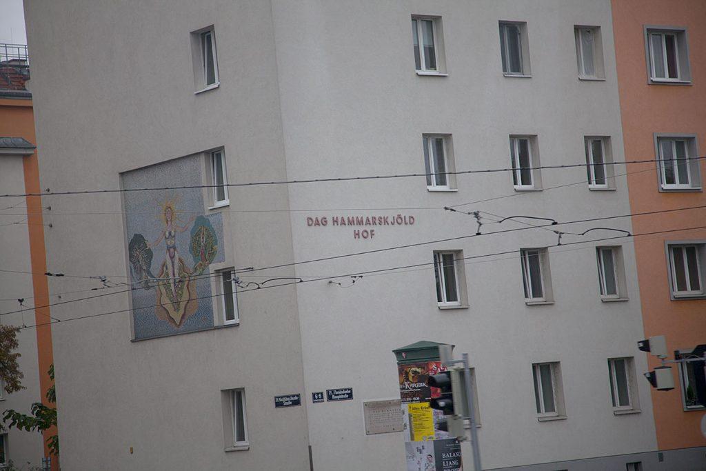 Dag Hammarskölds Hof byggdes inte under Det röda Wien-tiden.