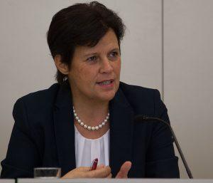 Renate Anderl, ÖGB:s vice ordförande.